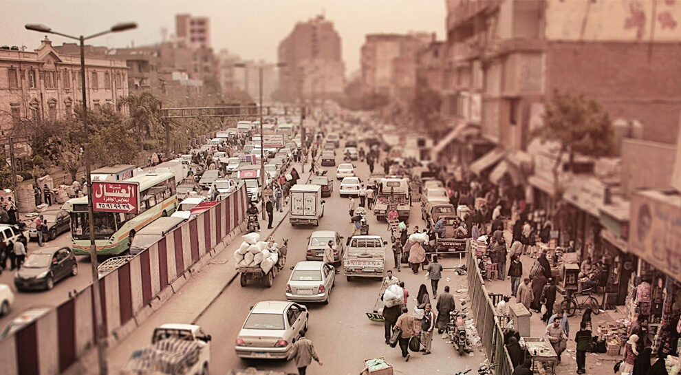busy street in India symbolizing India's large scale payments innovation