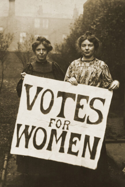 Votes for Women historical image