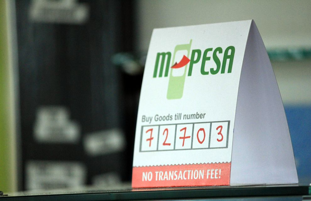 M-PESA payment option at restaurant